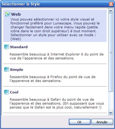 Lunascape 6.0 ORION (le navigateur internet ultime) 11