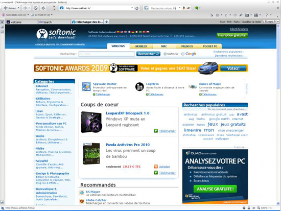 Lunascape 6.0 ORION (le navigateur internet ultime) 12