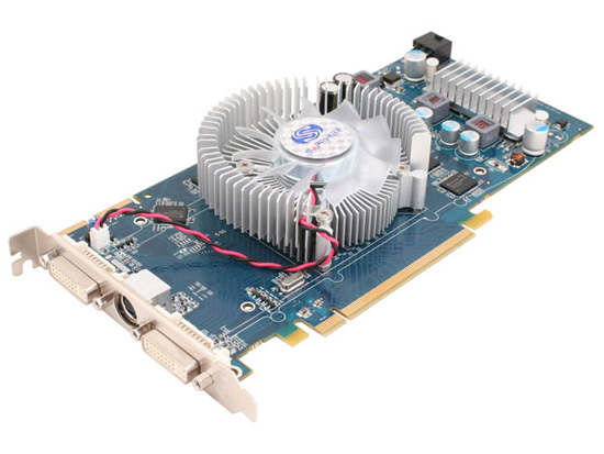 Sapphire Radeon HD 3850 Dual Slot Fansink - 512 Mo TV-Out/Dual DVI - PCI Express (ATI Radeon HD 3850) Sapphire3850_512_dualslot